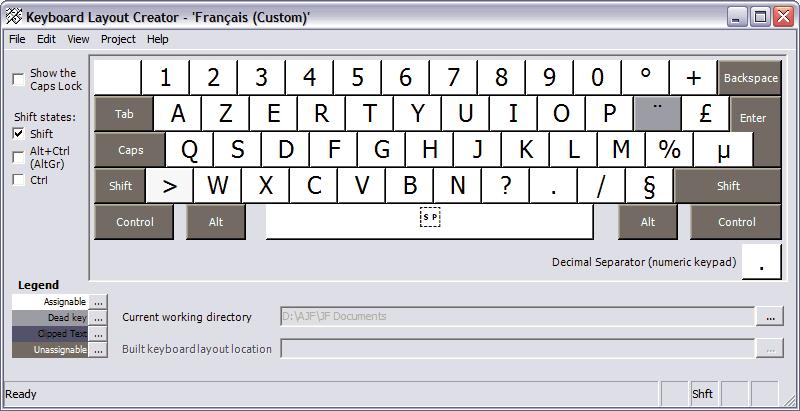 comment trouver le e accent sur un clavier qwerty